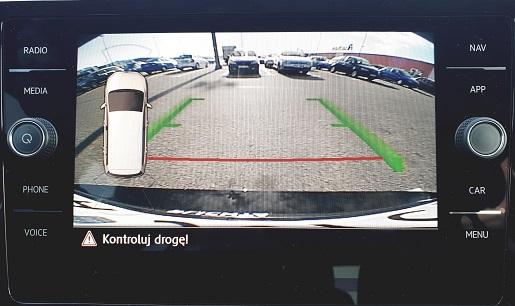 kamera cofania volkswagen touran opinie