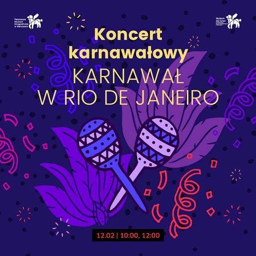 karnawał impreza dla dzieci Warszawa 2018 luty