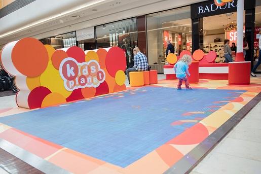 kidsplanet Gdańsk centrum handlowe atrakcje dla dzieci