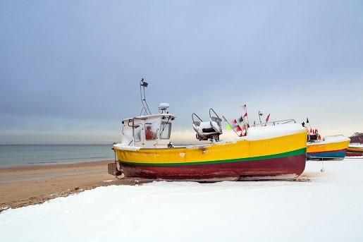 kiedy jest najwięcej jodu nad Bałtykiem zima nad morzem