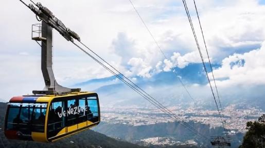 Merida Wenezuela atrakcje kolej