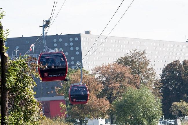kolejka gondolowa Wrocław opinie atrakcje