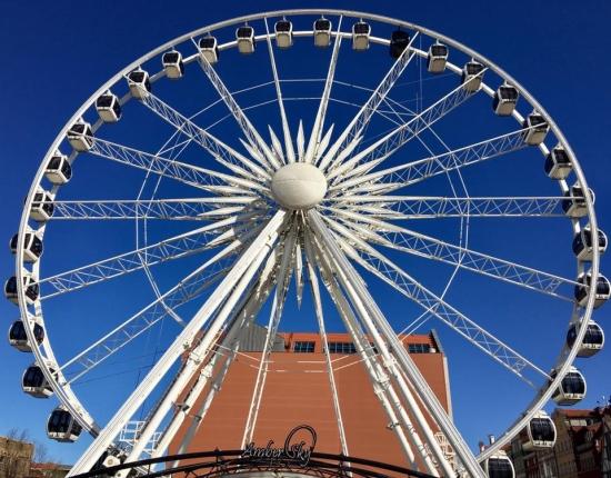 AmberSky Gdańsk opinie rodzinne atrakcje