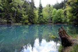 Błękitne Jeziorko rodzinne atrakcje Kamienna Góra