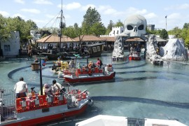 atrakcje Kraina Piratów Legoland
