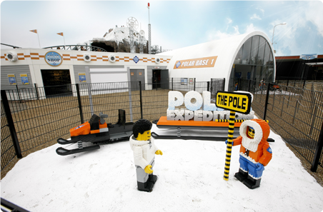 atrakcje Kraina Polarna Legoland Dania