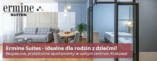 kraków apartamenty dla rodzin z dziećmi noclegi gdzie ermine 1