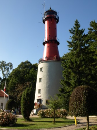 Rozewie latarnia Morska zwiedzanie z dzieckiem atrakcje