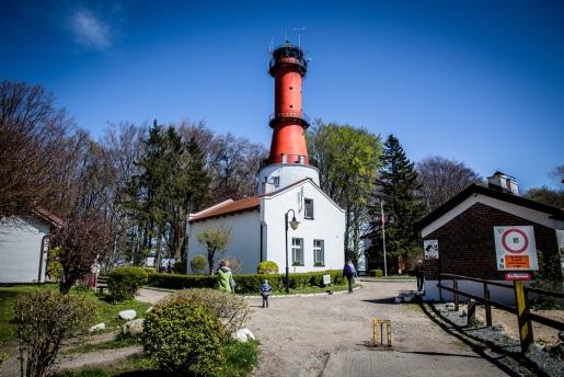 latarnia morska w Rozewiu atrakcje JAstrzębia Góra