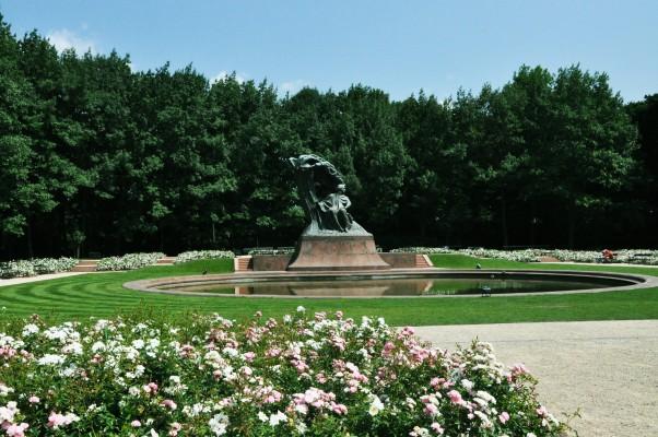 park Łazienki Warszawa rodzinne atrakcje