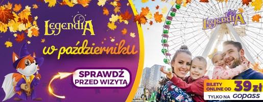 legendia-jesień-październik-atrakcje-Śląskie Wesołe Miasteczko