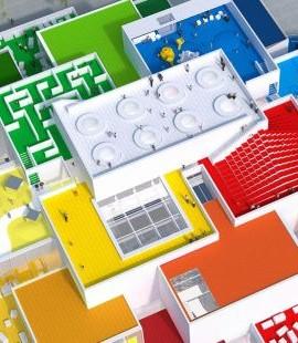 dom lego rodzinne atrakcje Dania