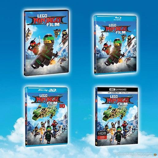 lego ninjago film dvd konkurs