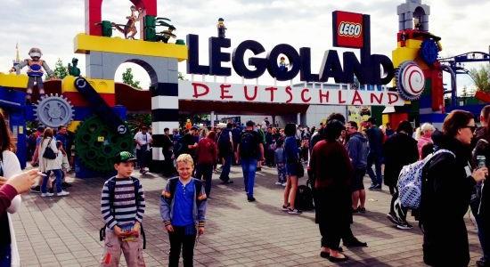 Legoland Gunzburg rodzinne atrakcje