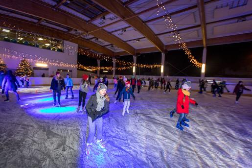 lodowisko wawer anin warszawa 2019 łyżwy z dzieckiem