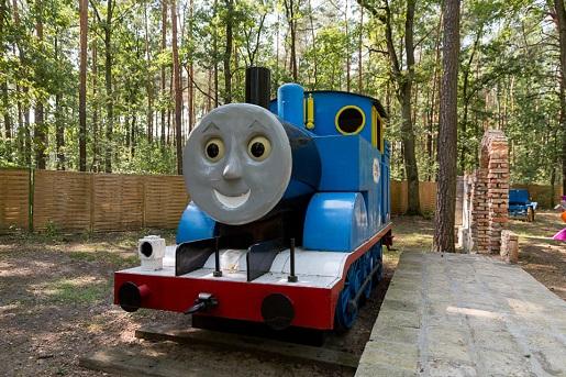 lokomotywa Tomek i Przyjaciele Zalesie atrakcje planeta opinie 111