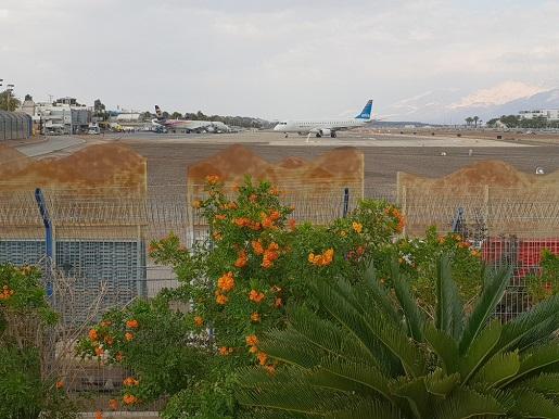 lotnisko Eilat Izrael kontrole opinie paszporty czas trwania procedury bezpieczeństwa