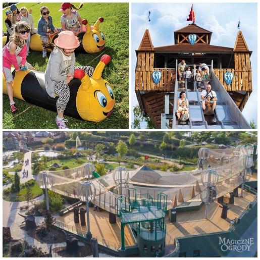 magiczne ogrody najlepsza atrakcja dla dzieci w Polsce 2020