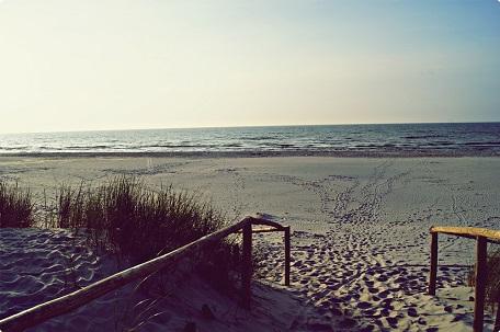 małe miejscowości nad morzem Bałtykiem ciche