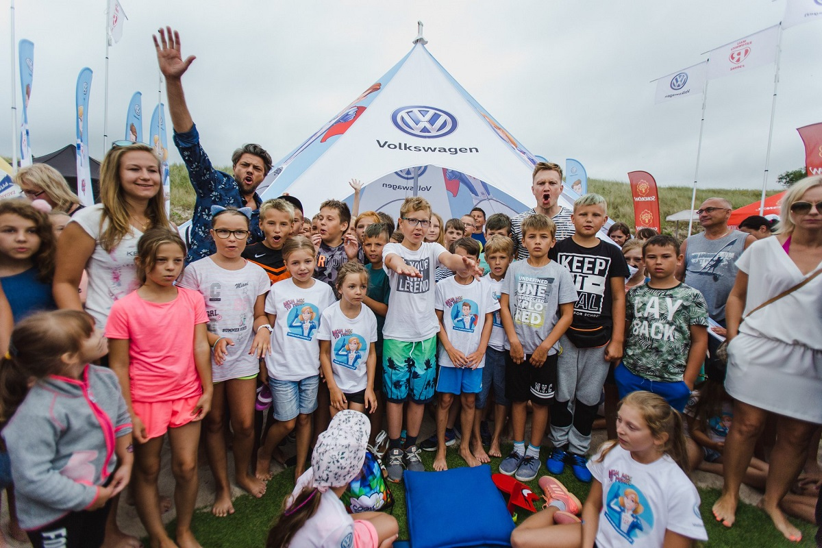 Volkswagen Mali Ratownicy - Projekt Plaża
