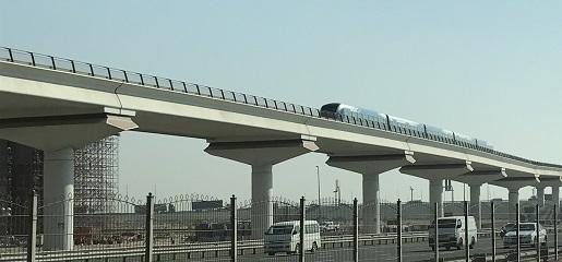 metro Dubaj ceny przejazdów opinie transport publiczny dojazd z lotniska
