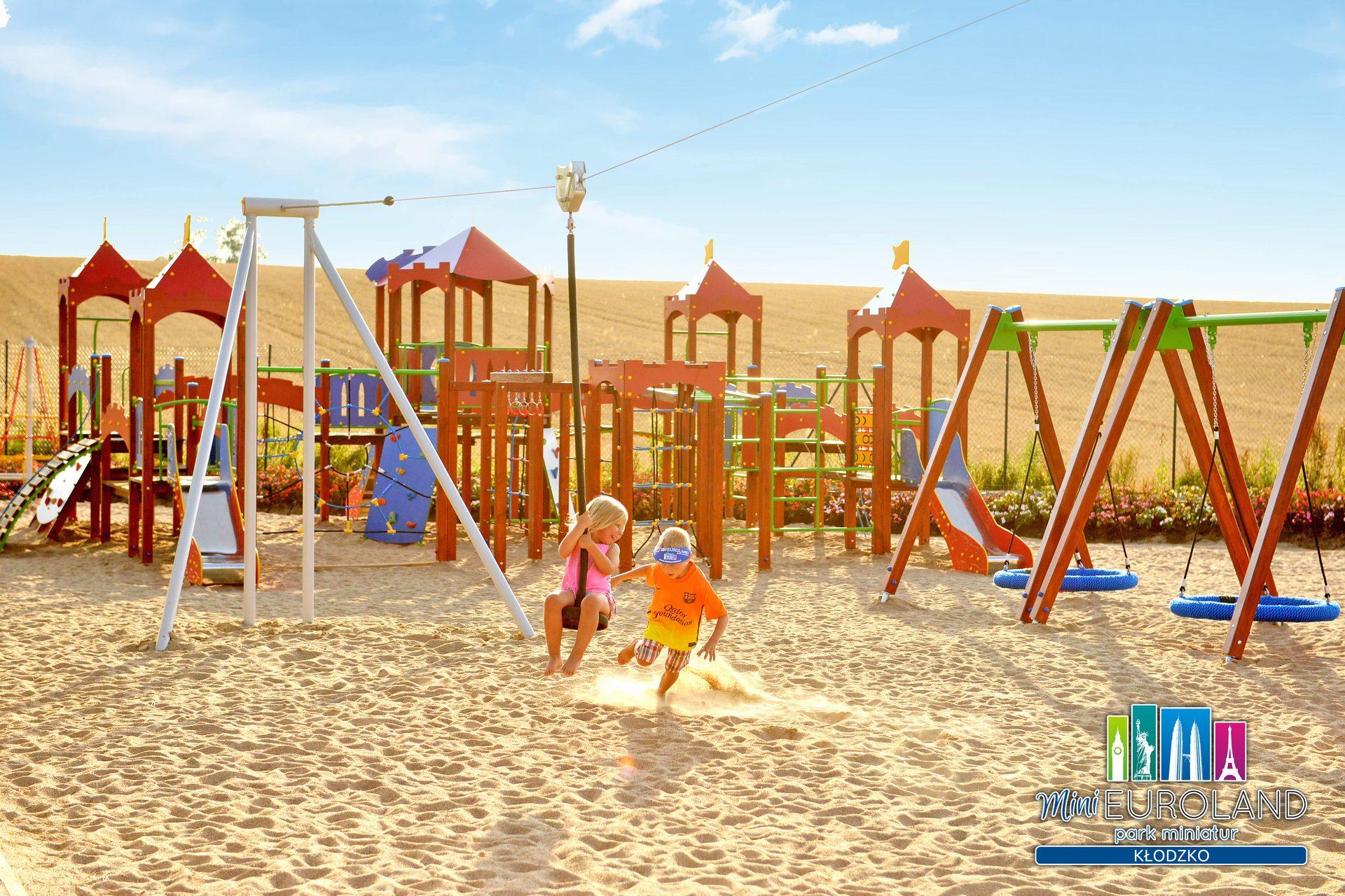 park miniatur Kłodzko rodzinne atrakcje