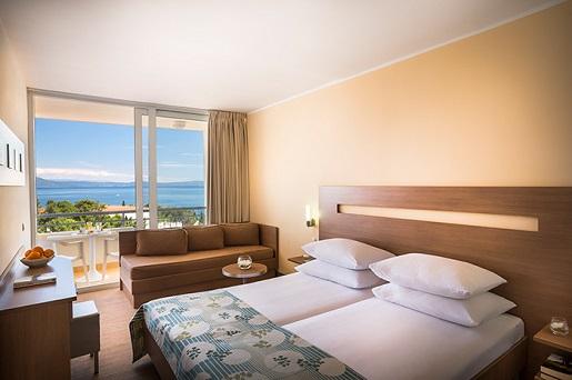 miramar-hotel-superior-pokoj chorwacja opinie wakacje z dziecmi