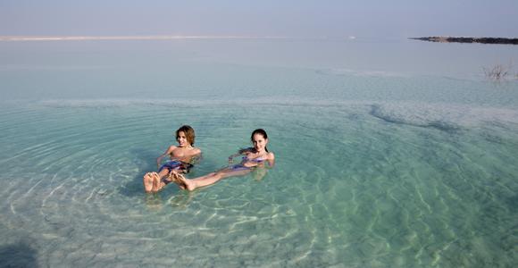 morze martwe z dzieckiem Izrael opinie bezpieczeństwo