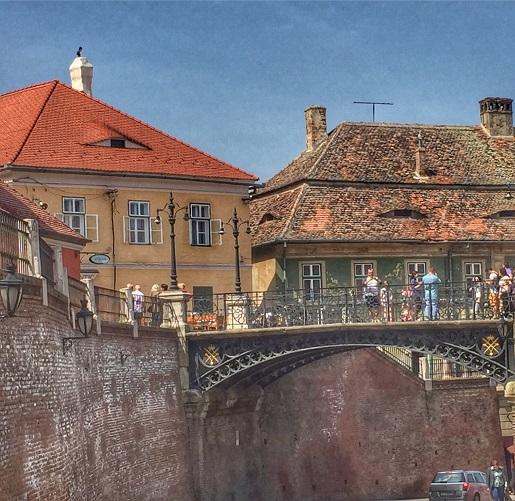 most Sybin atrakcje Rumunia zwiedzanie z dziećmi opinie
