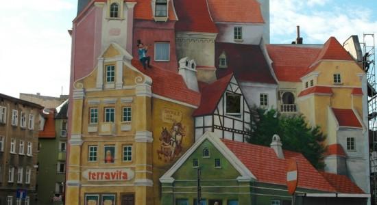 Mural Poznań rodzinne atrakcje
