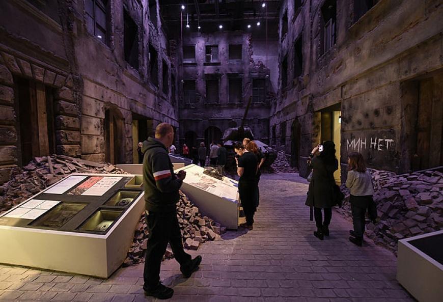 rodzinne atrakcje Muzeum II Wojny światowej Gdańsk