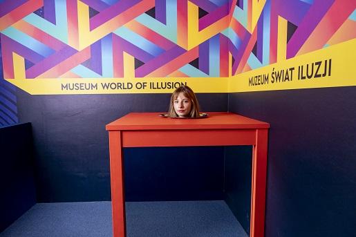 muzeum swiat iluzji warszawa atrakcje dla dzieci rodzin mazowieckie 7