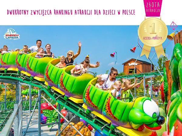 najlepsza atrakcja dla dzieci w Polsce Ranking Energylandia 2