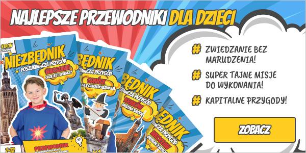 najlepsze przewodniki dla dzieci warszawa gdańsk kraków wrocław 600x300-v1