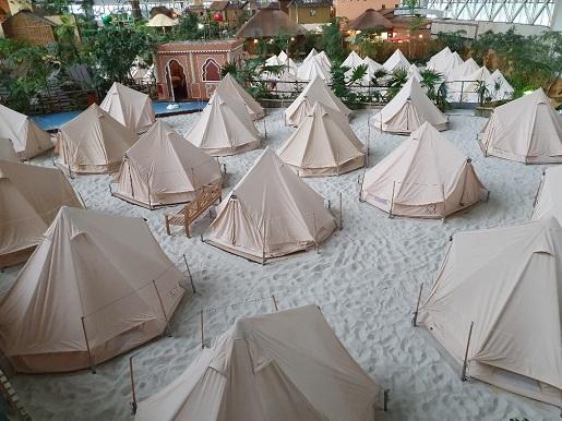 namioty tropikalna wyspa opinie noclegi ceny