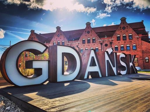napis-Gdańsk-do-zdjęć-gdzie-atrakcje Koło Widokowe Ołowianka