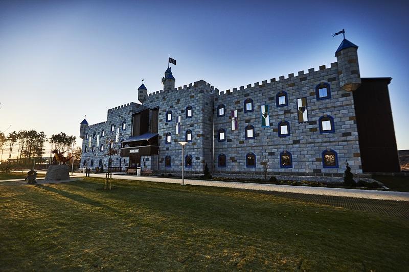 noclegi LEGOLAND Hotel zamek gdzie