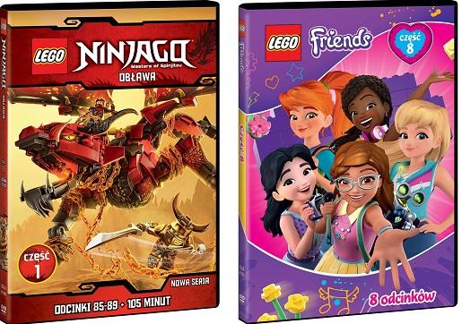 nowe odcinki ninjago Lego Friends online 2019