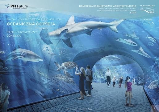oceanarium Gdańsk otwarcie atrakcje dla dzieci Aquapark
