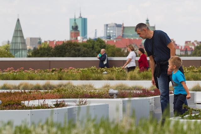 ogród na dachu cetrum kopernik godziny otwarcia