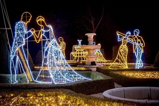 ogrody światła na zamku książ Wałbrzych opinie
