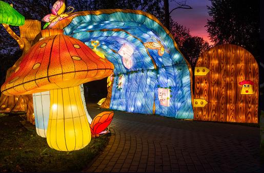 ogrody swiatel krakow zimowe malopolskie atrakcje dla rodzin z dziećmi 2