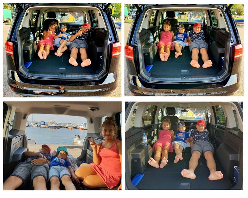opinie volkswagen touran najlepsze rodzinne auto test bagażnik