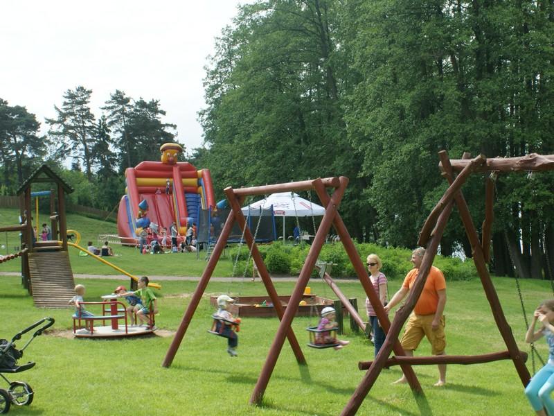 rodzinne atrakcje Mazury ośrodek z atrakcjami dla dzieci
