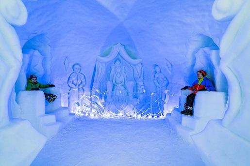 pałac królowej śniegu Zakopane labirynt atrakcje