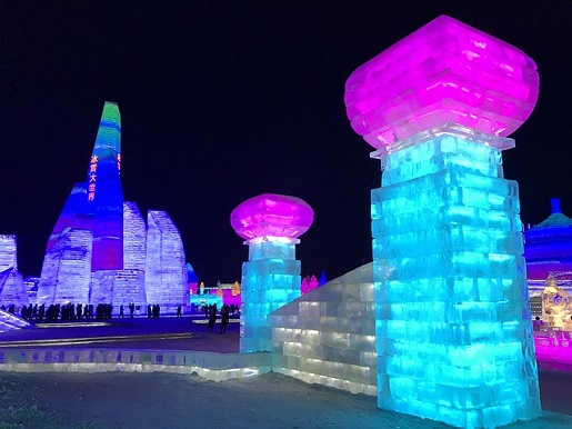 festiwal lodu i śniegu Chiny rodzinne atrakcje w Azji opinie