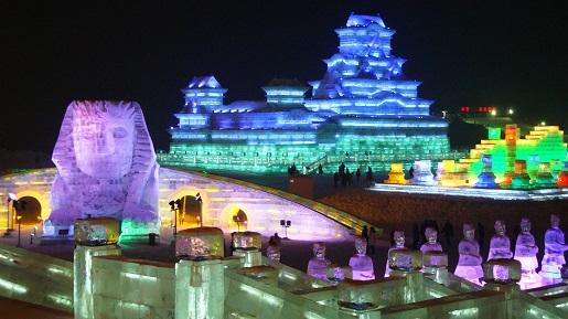 Snow and Ice World China festiwal lodowy Chiny atrakcje opinie