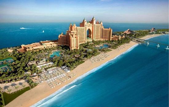 Wyspy Palmowe Dubaj plaże atrakcje