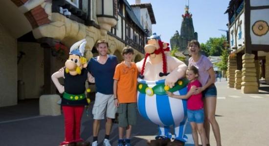 rodzinny park rozrywki Francja