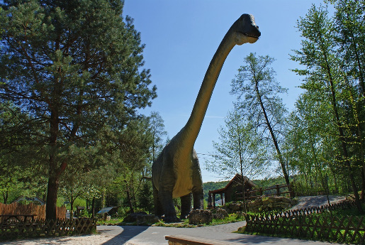 park dinozaurów Bałtowski Kompleks Turystyczny atrakcje bilety ceny